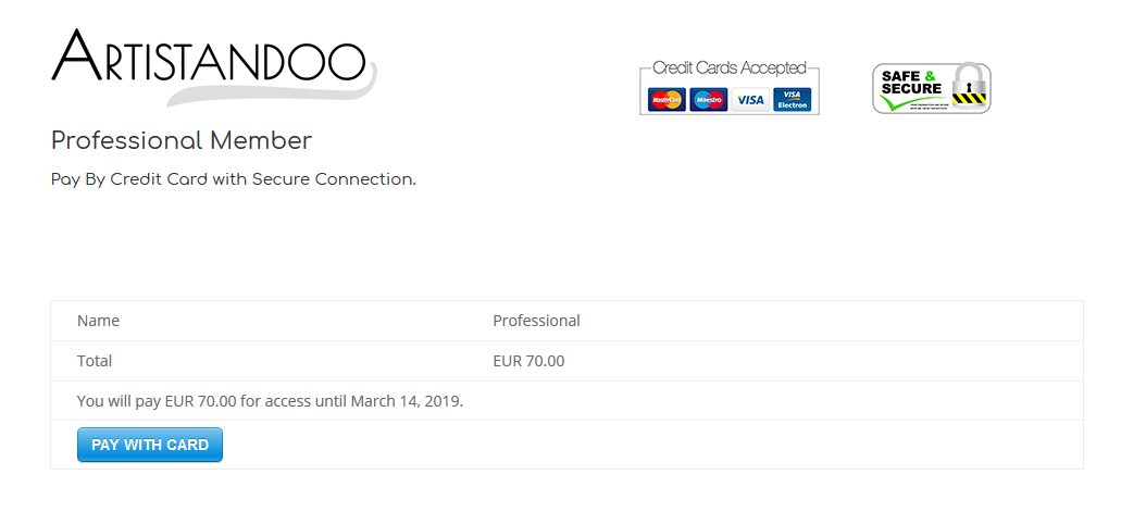 acquista quadro Payment guide page 1 - ARTISTANDOO