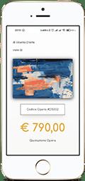 acquista quadro Iphone artistandoo v1 - ARTISTANDOO