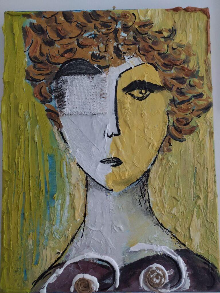acquista quadro Ritratto di donna - ARTISTANDOO