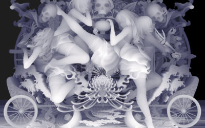 "Galleria dell'artista Kazuki Takamatsu – ""The Way To Release From The Restraint"""