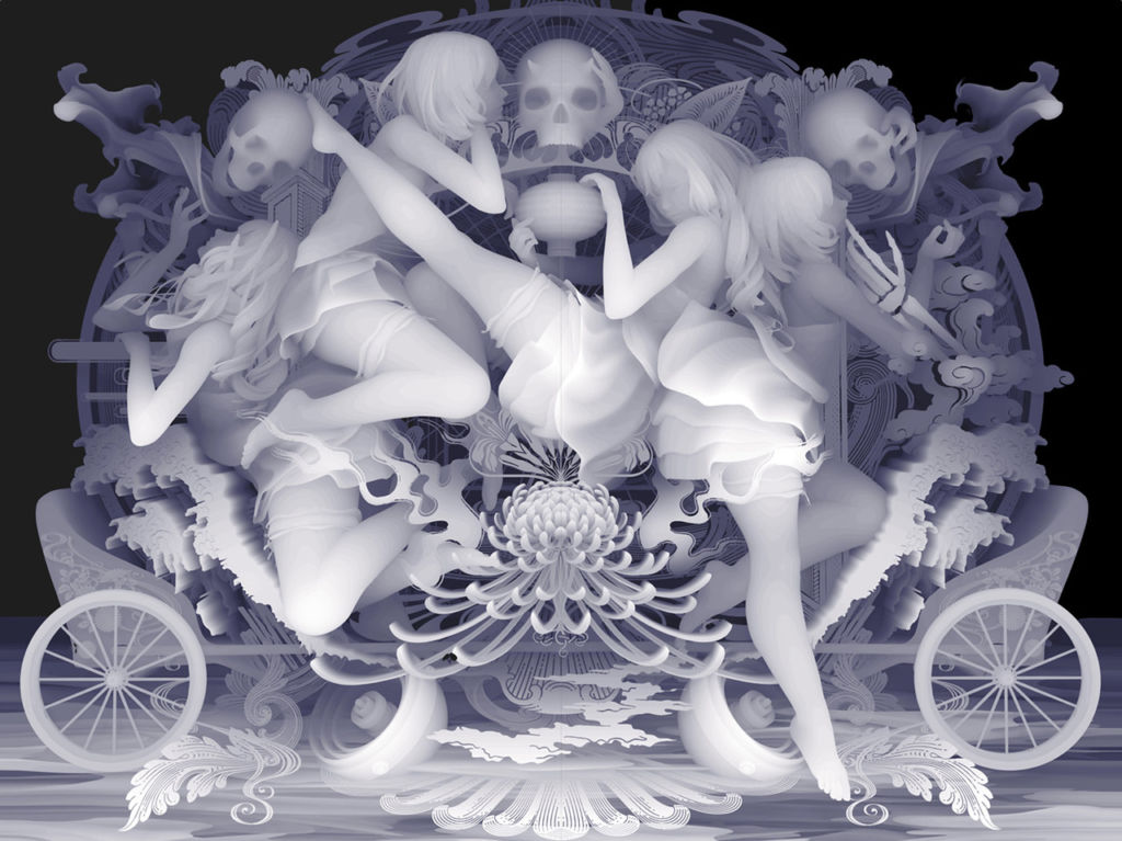 "Galleria dell'artista Kazuki Takamatsu – ""The Way To Release From The Restraint"""