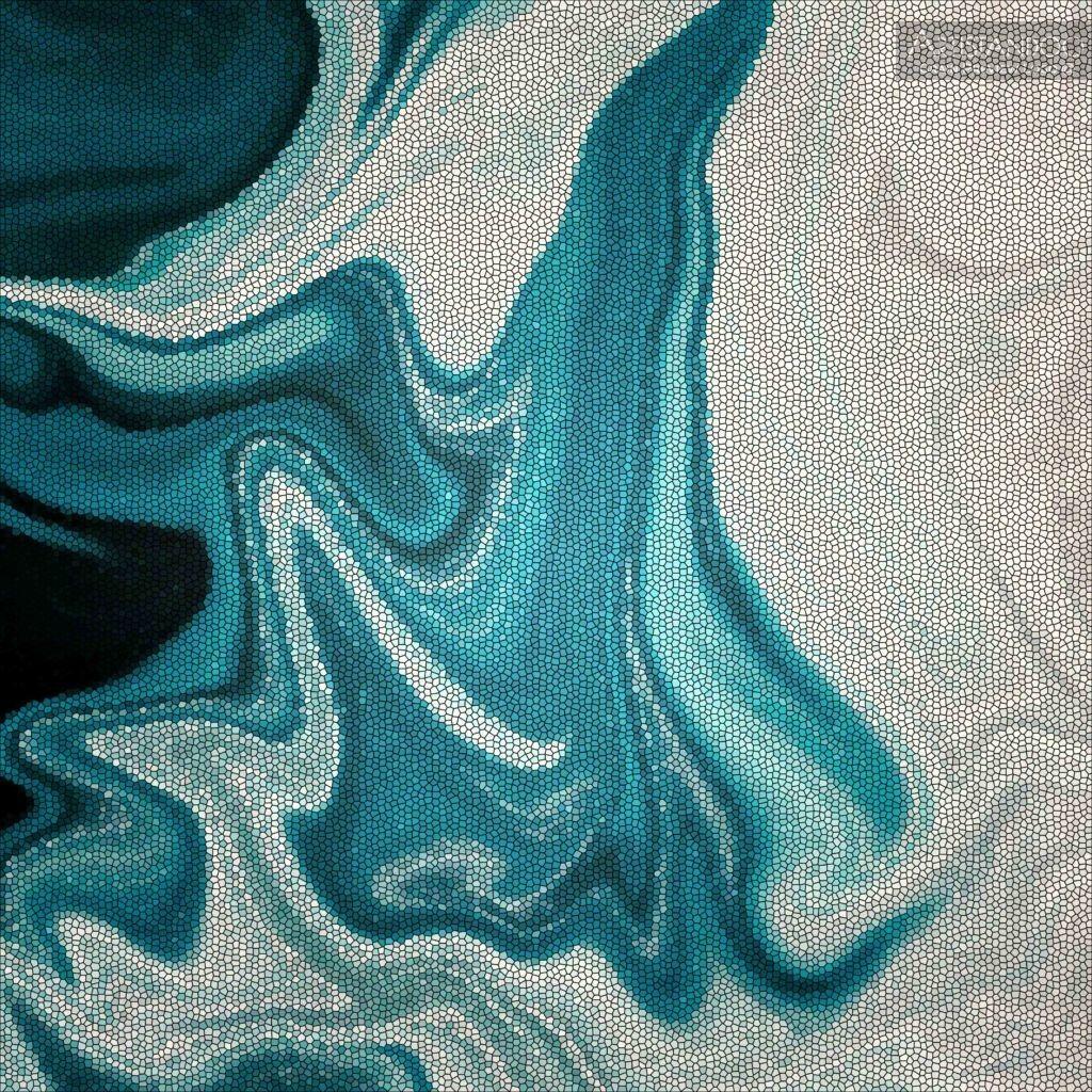 acquista quadro mare mosaico - ARTISTANDOO