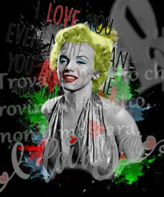 acquista quadro marilyn 2021 - ARTISTANDOO