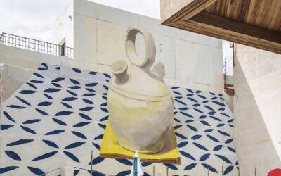 Mimetizzazione su drappeggi e murales spagnoli