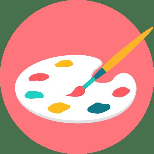 acquista quadro painting palette - ARTISTANDOO